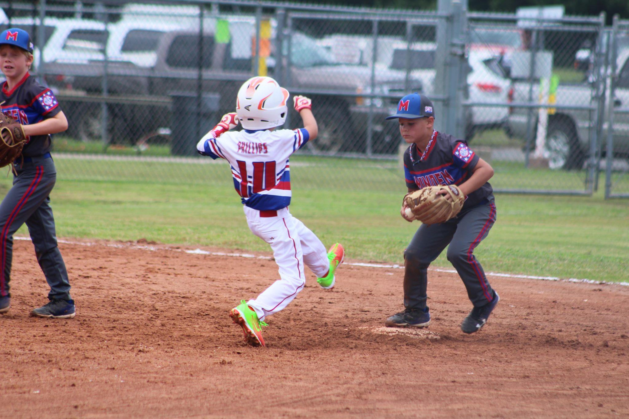 Dixie District pitching machine world-class underway