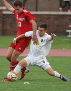 Men's Soccer Tops E Mary's 1-0 In Double Overtime